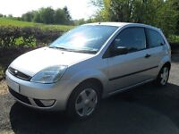 FORD FIESTA 3 DOOR 1.25 ZETEC MODEL