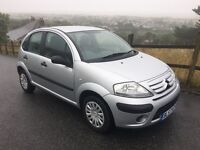 Citroen C3 Cool 5 Door Hatchback Silver Long MOT ONLY 68000 Miles Was £1595