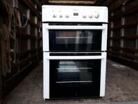 Beko 60 wide White freestanding solid ring electric cooker £145 guaranteed working