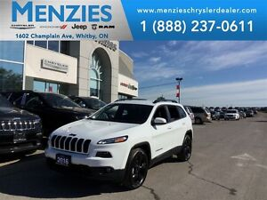 2016 Jeep Cherokee North 4x4, Bluetooth, Backup, Clean Carproof