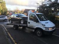 Car recovery car movement car brakdown