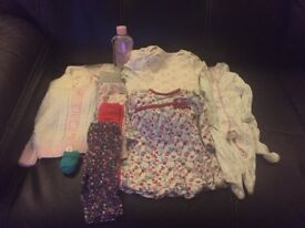 Baby girl first size clothes