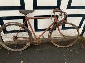 Vintage racing bike - display or restoration project