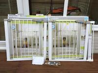Lindam Stair safety gate x 2 with Extension