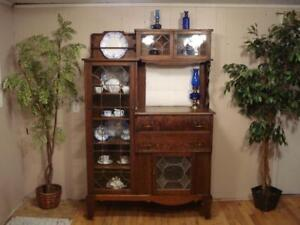 Antique Side by Side Curio, Circa 1800s