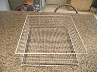 370mm x 370mm Glass Washer Basket