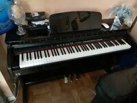Diginova Concerto VII Digital Piano - High Gloss Piano Black - Excellent condition!