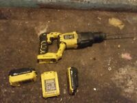 3 stanley fat max batteries + sds and impact driver