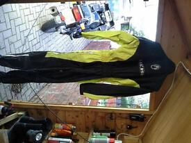 Richta all in one motorcycle waterproof suits, sizes, M and XXL
