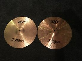 "Zildjian ZHT 14"" rock hi hats"