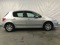 2006 Peugeot 307 1.4 16v (90bhp) S 5dr *** Full Years MOT ***