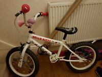 "Hello Kitty 16"" Bicycle (Used)"