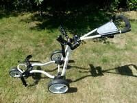 Big Max Ti 2000 3 Wheel Folding Golf Trolley