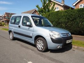 PEUGEOT PARTNER WHEELCHAIR ACCESSIBLE VEHICLE. WAV. 1.4 PETROL. EXCELLENT CONDITION