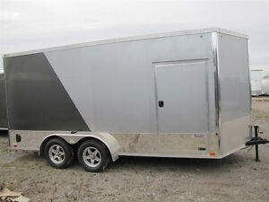 2016 United 7'x14' MOTORCYCLE/TOY HAULER CARGO TRAILER