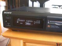 Sony mini disc deck mds-je510 player recorder