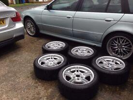 e39 MSport wheels & tyres type 66 x5