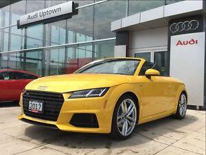 2017 Audi TT 2.0T W/ S LINE SPORT, COMFORT SEATING & NAVIGATION
