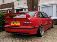 BMW 3 series E36 318is m sport Hellrot red (manual)
