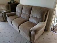 FREE sofa and two armchairs - three piece suite