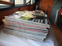 JOB LOT OF GUITAR MUSIC MAGAZINES