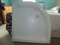 Shower tray quadrant 900mm