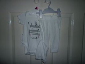 Brand new F&F outfit 3-6 months unisex