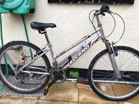 """Unisex adult Salcano bike. 15"""" frame. 26"""" Wheels. working"""