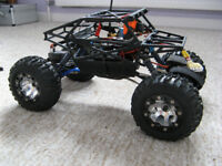 Losi Mini Crawler Pro with Slickrock body (Rock Crawler)