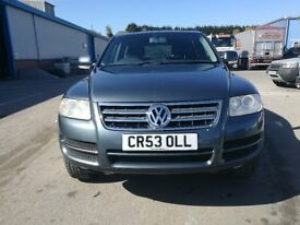 2004 VW Touareg 2.5 TDI Manual £££££ spent Diesel 4x4 swap px delivery available