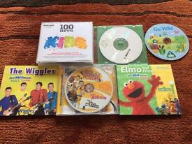 9 children's CD's