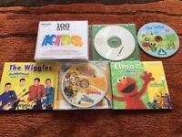 9 children's CD's