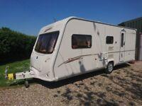 Bailey Senator Arizona Series 5 Caravan, 4 berth, motor mover, end bathroom,