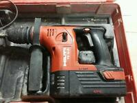 Hilti 36v sds (not dewalt, makita, bosch, festool)