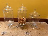 Glass Sweetie Jars
