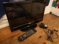 15 Inch HD TV with Remote & Freeview
