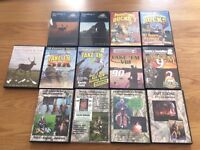 Selection of hunting DVDs. Excellent condition.