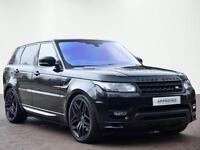 Land Rover Range Rover Sport V8 AUTOBIOGRAPHY DYNAMIC (black) 2016-09-08