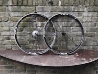 Pro lite wheel set 700c and 10 speed cassette