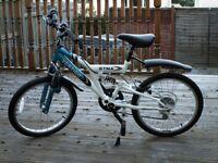 """Kids Mountain Bike Vertigo Etna 20"""" Frame Size"""
