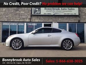 2008 Infiniti G37 Sport leather w navigation p/sunroof coupe