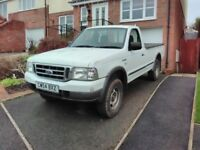 !! REDUCED PRICE TO GET IT MOVED ON !!Ford Ranger Single Cab 4x4 Turbo Diesel Pick-up Truck