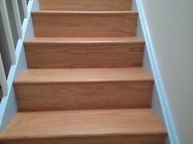 OAK STAIR KLADING FOR STAIRS