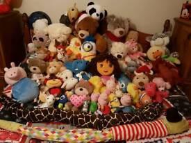 Bundle of teddies