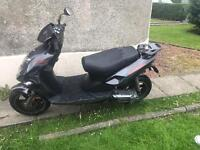 2013 CPI Aragon 50 49cc Grey Scooter Two Stroke for Spares Repair