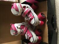 Roller skates adjustable from size 12-2