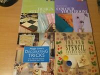 DIY, Decorating and interior design books