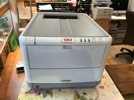 OKI C3300 A4 colour Laser Printer for sale.
