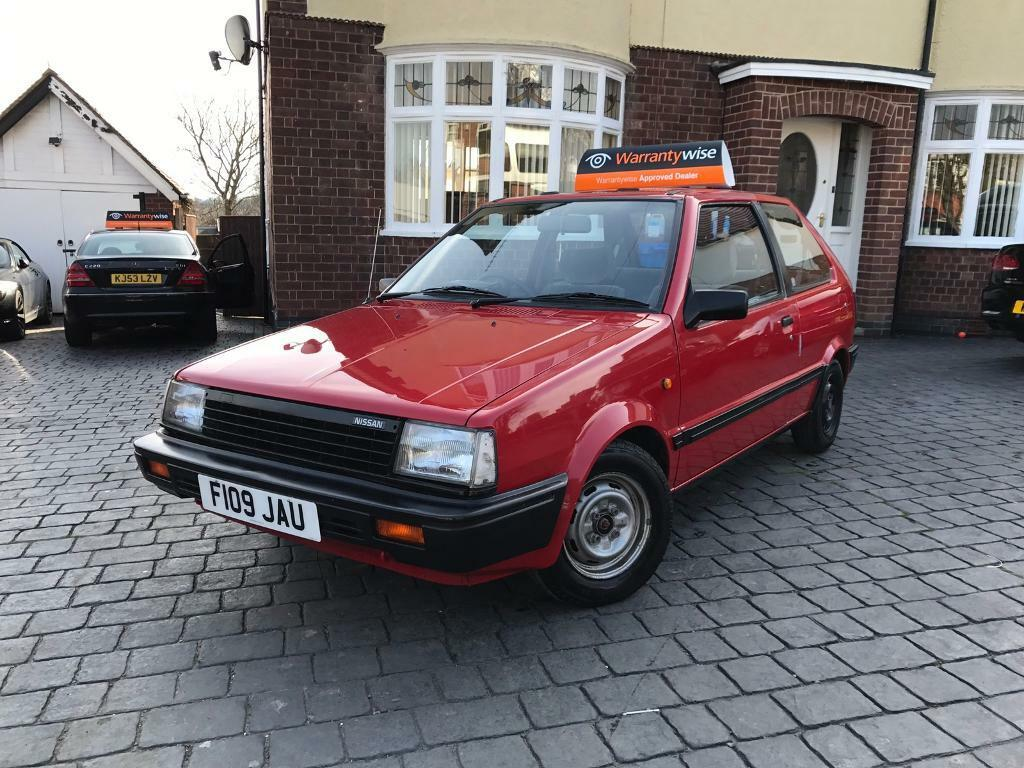 nissan micra k10 red 1989 1 0 gsx 2 owners sh low miles. Black Bedroom Furniture Sets. Home Design Ideas