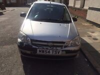 HYUNDAI GETZ | 2004 | MANUAL | 1.1L | PETROL | 5 DOOR | SILVER | £675